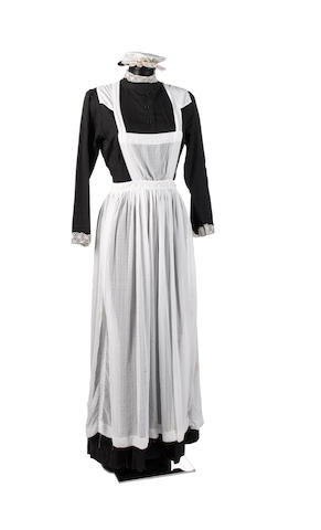 Doctor Who - Tooth and Claw, 2006 A maid's costume, as worn by Queen Victoria's staff,