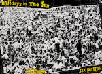 Sex Pistols: Two promotional posters,  including 'Holidays In The Sun' single promo poster, 2