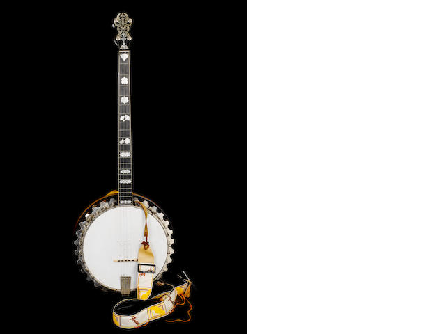 Lonnie Donnegan banjo