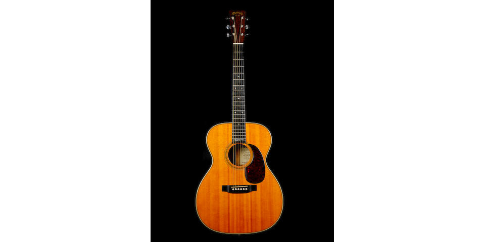 A Martin 000-28 EC Eric Clapton signature model acoustic guitar, formerly owned by Eric Clapton,