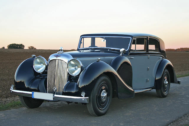 1939 Lagonda V12 Sports Saloon  Chassis no. 14080 Engine no. 14080