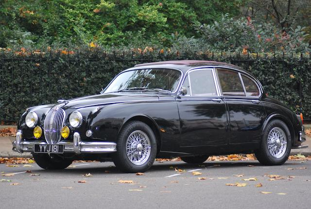 Left-hand drive,1961 Jaguar Mk2 3.8-Litre Saloon  Chassis no. P216150BW Engine no. LB11139