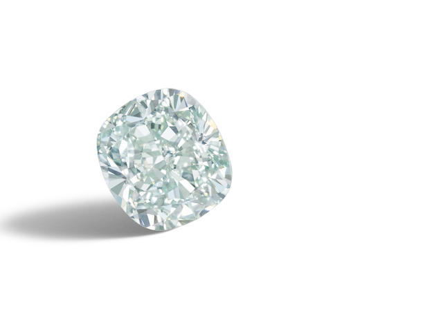 An unmounted fancy-coloured diamond