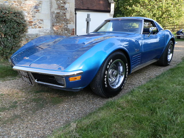 1971 Chevrolet Corvette Stingray 7.4-Litre Convertible  Chassis no. 194671S101411