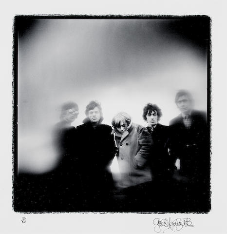 Gered Mankowitz (British, born 1946) - A photographic portrait of The Rolling Stones, Primrose Hill, London, 1966,