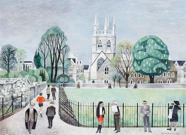 Alfred Daniels, RWS, RBA (British, born 1924) Oxford Meadows