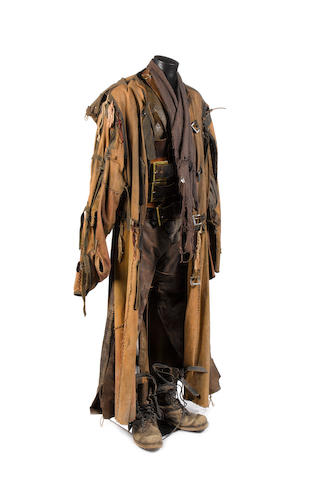 Doctor Who - Utopia, 2007 Paul Marc Davies as the Futurekind Chieftain: A complete multiple layered costume, comprising; quantity