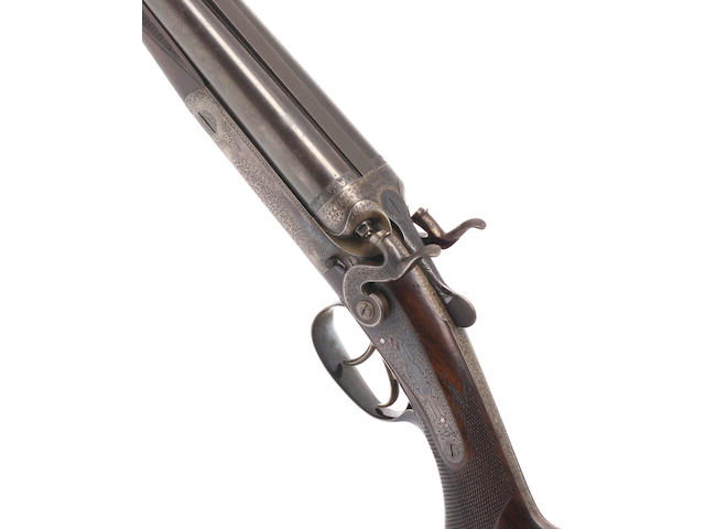 A fine .303 hammer rifle by Holland & Holland, no. 17447
