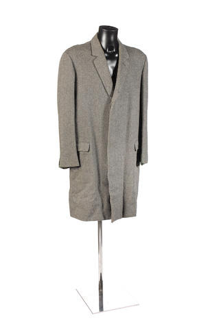 Patrick McGoohan's overcoat, as worn in 'Danger Man' and 'The Prisoner',