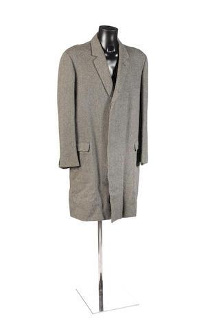 Patrick McGoohan's overcoat, as worn in 'Danger Man' and 'The Prisoner',