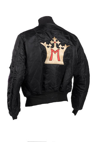 A Madonna 'Blond Ambition' tour jacket,