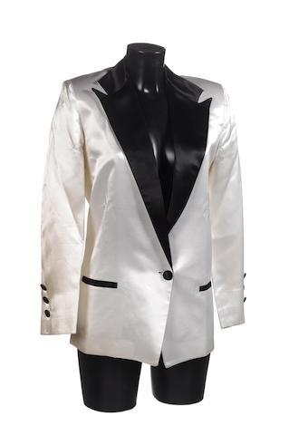 Cyndi Lauper: a tuxedo jacket by Andre Van Pier,