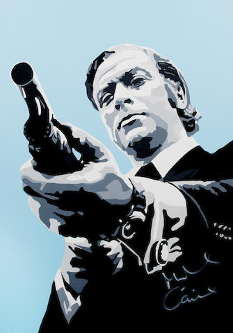 Mark Fuller: Michael Caine as Jack Carter in 'Get Carter', 2011,