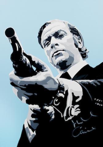 Mark Fuller: Michael Caine as Jack Carter in 'Get Carter', 2011,