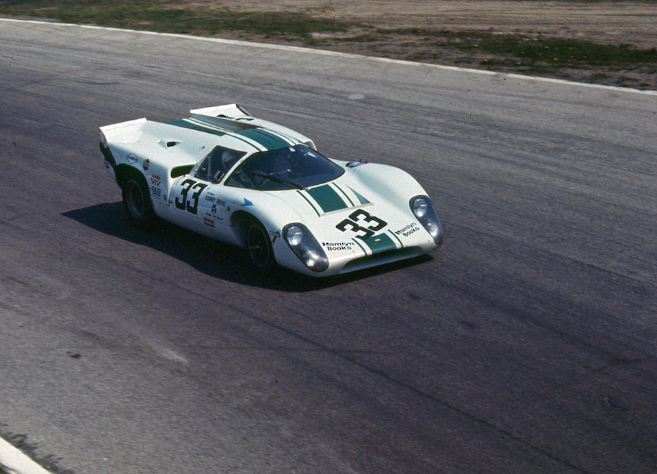The ex-Sid Taylor,1969-70 Lola-Chevrolet T70GT Mk IIIB Endurance Racing Coupe  Chassis no. SL76/138