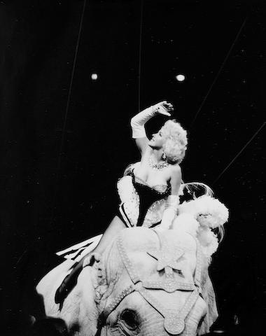 Herman Leonard (American 1923 - 2010): 'Marilyn Monroe - New York - 1953',