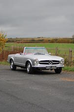 1966 Mercedes-Benz 230SL Convertible  Chassis no. 1134222013858 Engine no. 31511966