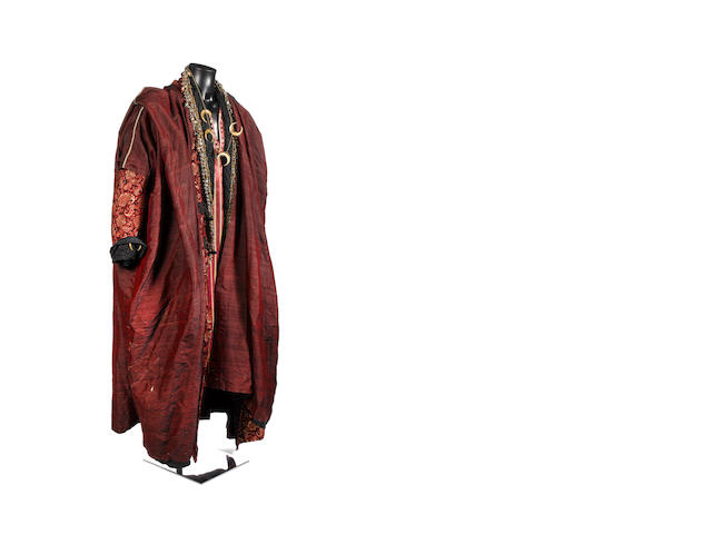 Doctor Who - The Pandorica Opens, 2010 Simon Fisher-Becker as Dorium Maldovar: A complete costume, comprising: