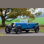 1925 Sunbeam  3.0-Litre Super Sports 'Twin Cam' Tourer  Chassis no. 4028FE Engine no. 4032E