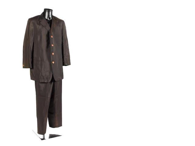 Elton John: a  Versace suit,