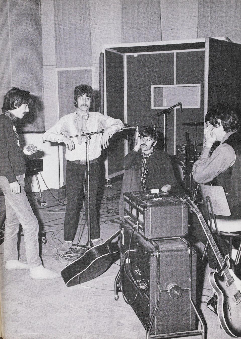 Bonhams : George Harrison/The Beatles: a rare Vox UL730 amplifier