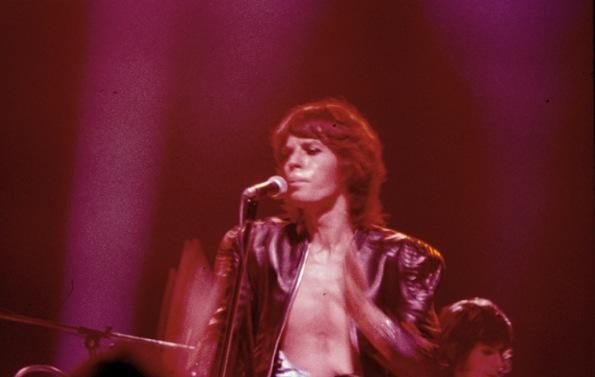 Colour photographs of the Rolling Stones onstage at the Empire Pool