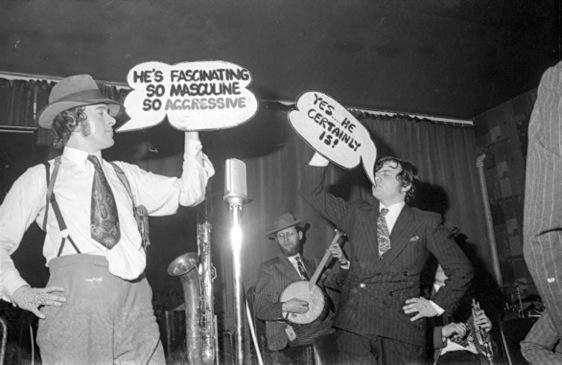 Unpublished photographs of the Bonzo Dog Doo-Dah Band