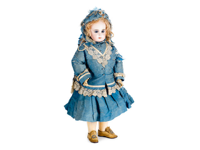 Rare size 12 E.Jumeau bisque head doll