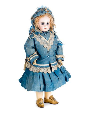 Rare size 12 E.Jumeau bisque head doll