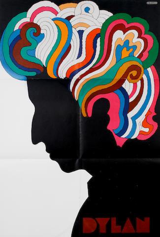 Milton Glaser: Bob Dylan poster, US, 1966,