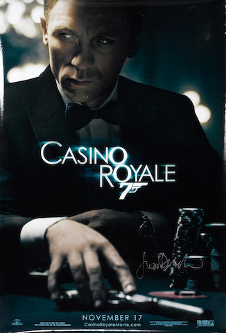A collection of Casino Royale posters, 2006, 19