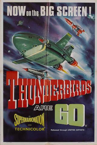 Thunderbirds Are GO, United Artists, 1966,