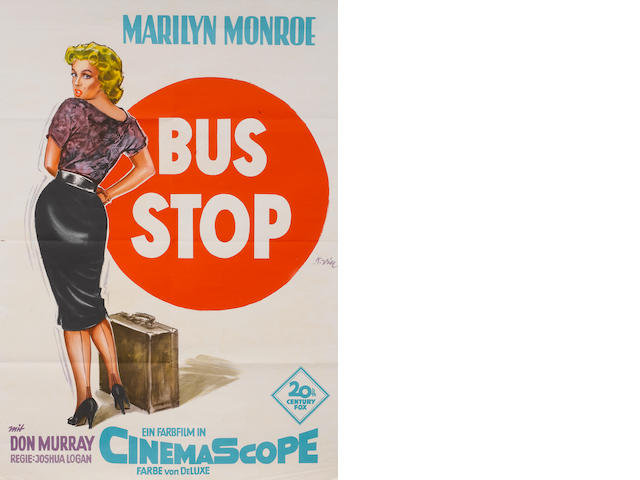 Marilyn Monroe: A collection of five film posters,  titles including:5