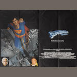Three Superman related British Quad posters,  including: Superman - The Movie, Warner Bros., 1978,3