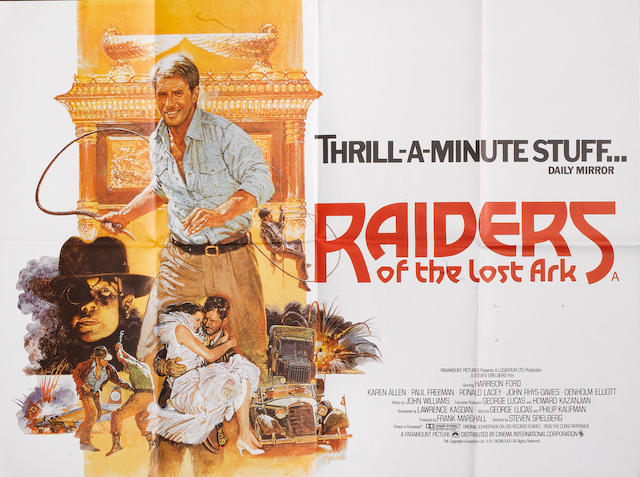 Indiana Jones And The Raiders Of The Lost Ark, Paramount, 1981,