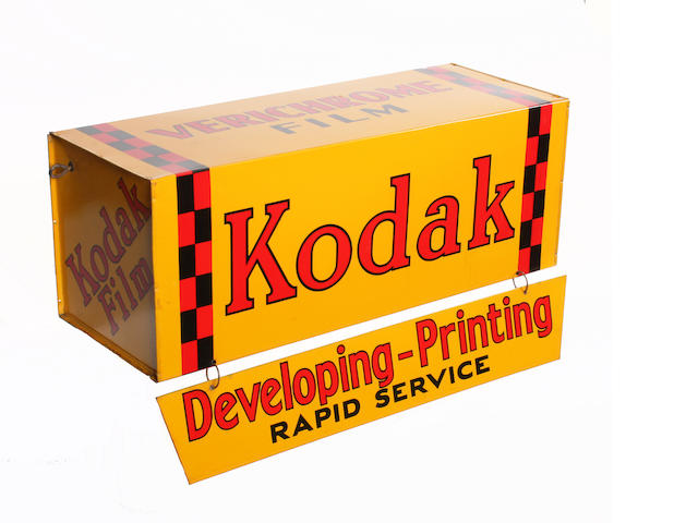 Kodak hanging shop sign