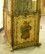 A French sedan chair