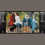 Abba: a good collection of autographed material,