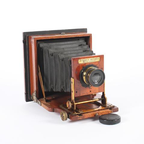 A Lancaster Le 'Merveilleux' Patent camera