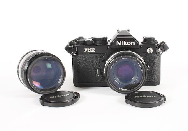 Nikon FM2 camera