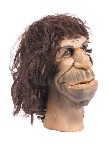 Spitting Image: a puppet of Keith Richards,