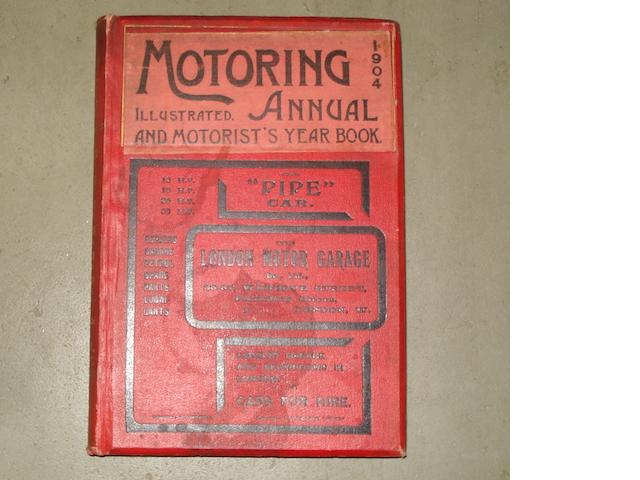 A Motoring Annual Illustrated and Motorists Year Book 1904,
