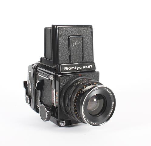 Mamiya RB 67 camera