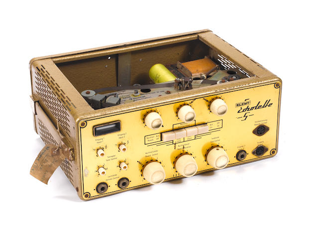 Dave Clark Five: A Klemt 'Echolette S' echo machine,