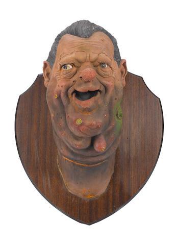Spitting Image: a puppet of Robert Maxwell,