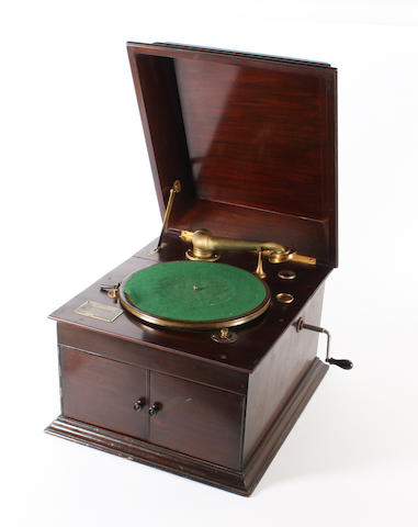 A Cliftophone table top gramophone,