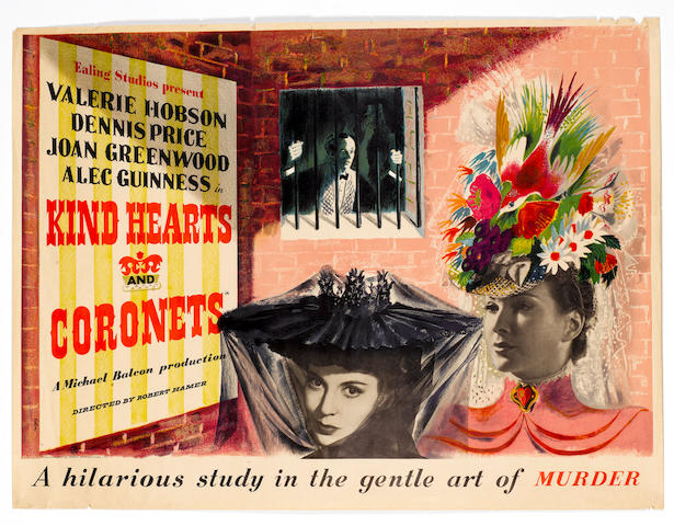 Kind Hearts And Coronets, Ealing Studios, 1949,