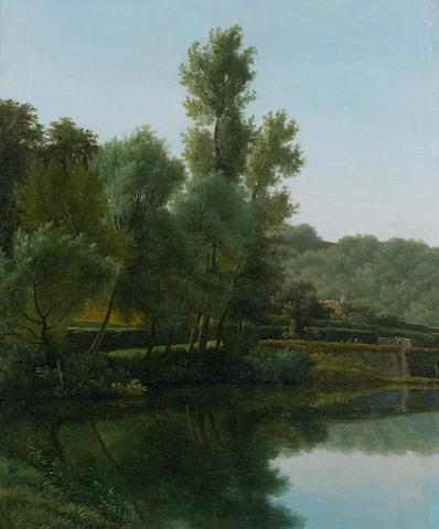 Jean Victor Bertin (French, 1767-1842) River landscape