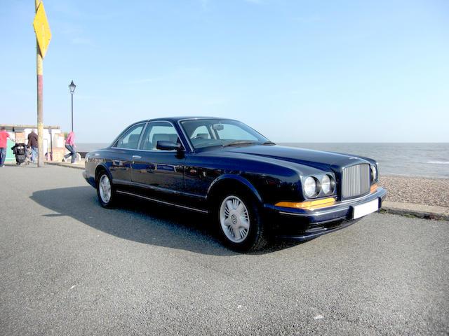 1996 Bentley Continental R Coupé  Chassis no. SCBZB15CXTCH53074 Engine no. 85599L410M/T1T