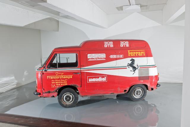 1978 Fiat 900 T Ferrari service van, Chassis no. 200B1453782